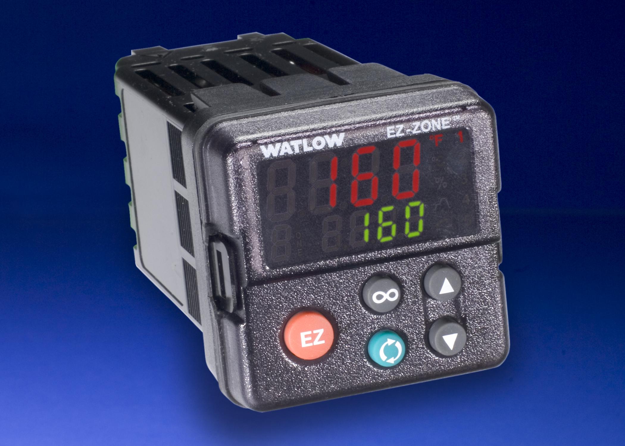 controls entherm inc ez zone pm panel mount 1 16 din controller basic watlow